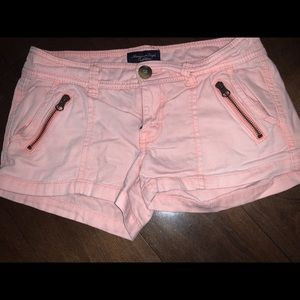 Coral American Eagle Shorts. Size 0.